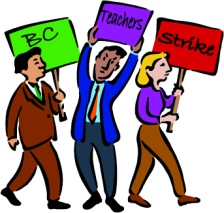 BC Teachers Strike by Tina McInerney